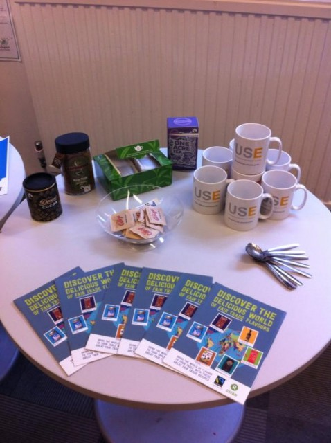 The Enterprise team held a coffee morning to raise awareness